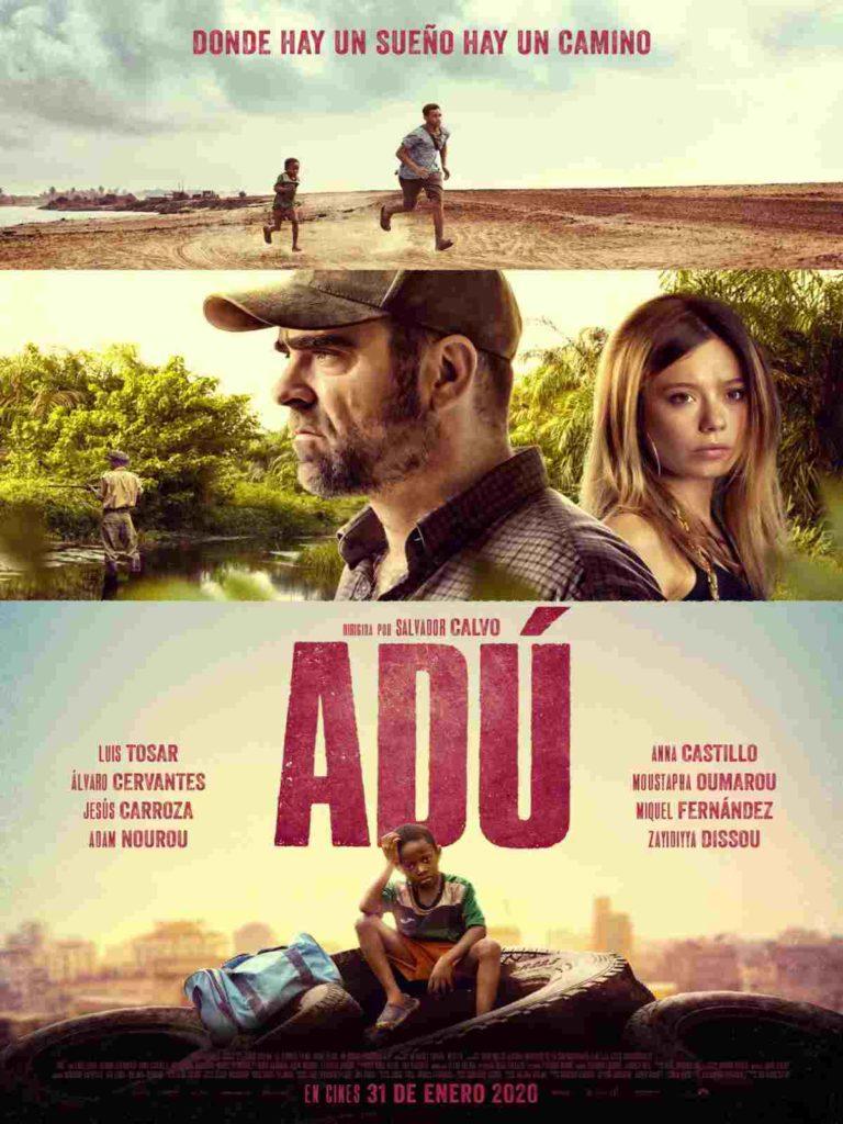 Cartel película Adú